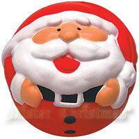 """Игрушка-антистресс """"Дед Мороз"""", 7 см, цвет: красный"""