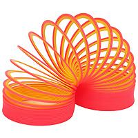 """Пружинка """"Slinky neon"""", цвет: красно-желтый"""