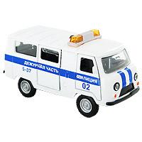 Милицейский УАЗ. Коллекционная модель. Масштаб 1/43