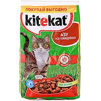 "Корм сухой для кошек ""Kitekat"", азу из говядины"