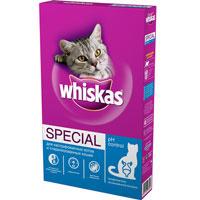 """Корм сухой Whiskas """"Special"""" для кастрированных котов и стерилизованных кошек"""