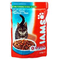 """Консервы для кошек """"Iams"""", с тунцом"""