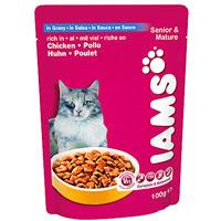 """Консервы Iams """"Senior & Mature"""" для кошек старше 7 лет"""