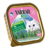 """Корм для кошек """"Yarrah"""", паштет с семгой, креветками и омега 3&6 Wellness"""