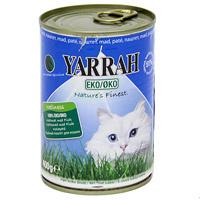 """Корм для кошек """"Yarrah"""", из курицы с рыбой, спирулиной и морскими водорослями"""
