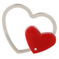 Брелок Сердечко станет отличным подарком любимому человеку или другу