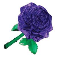 """Головоломка 3D """"Роза"""", цвет: фиолетовый"""