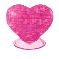 """Головоломка 3D """"Сердце"""", цвет: розовый"""