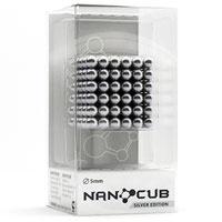 Неокуб Alpha 216 Silver 5mm, цвет: серебристый, 216 элементов