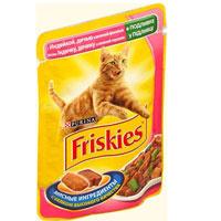 """Консервы для кошек """"Friskies"""", с индейкой, дичью и зеленой фасолью"""