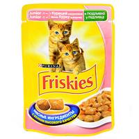 """Консервы Friskies """"Junoir"""" для котят, с курицей и морковью"""