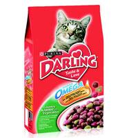"""Корм сухой """"Darling"""" для кошек, с кроликом и овощами"""