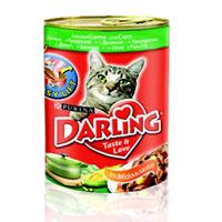 """Консервы """"Darling"""" для кошек, с дичью и кукурузой"""