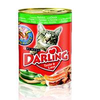 """Консервы """"Darling"""" для кошек, с крольчатиной и уткой"""