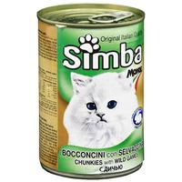 """Консервы для кошек """"Simba"""", с дичью"""