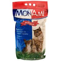 """Наполнитель MonAmi """"Универсал"""" для кошачьего туалета, древесный"""