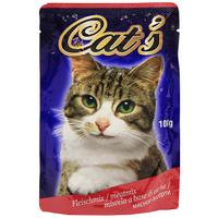 """Консервы """"Cat's"""",мясное ассорти, для взрослых кошек"""