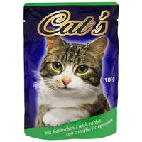 """Консервы """"Cat's"""", с кроликом, для взрослых кошек"""