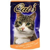 """Консервы """"Cat's"""", с птицей, для взрослых кошек"""