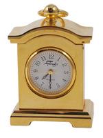 часы каретные. металл, позолота, японский часовой механизм. западная европа, фаберже, вторая половина хх века