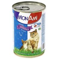 """Консервы для кошек """"MonAmi"""", с нежной индейкой в соусе"""