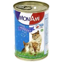 """Консервы для кошек """"MonAmi"""", нежное мясное рагу в соусе"""