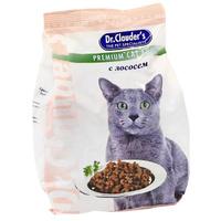 """Корм сухой """"Dr. Clauder's"""", для кошек, с лососем"""