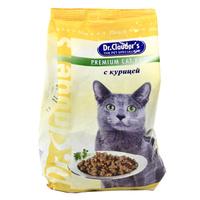 """Корм сухой """"Dr. Clauder's"""", для кошек, с курицей"""