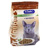 """Корм сухой """"Dr. Clauder's"""", для кошек, с кроликом"""