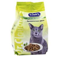 """Корм сухой """"Dr. Clauder's"""", для кошек, диетическое мясо"""