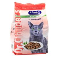 """Корм сухой """"Dr. Clauder's"""", для кошек, с говядиной"""