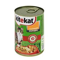 "Консервы для кошек ""Kitekat"", холодец с курицей"