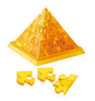 """Головоломка 3D """"Пирамида"""", цвет: желтый, 38 элементов"""