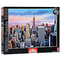 Настольная игра Манхеттен, Нью-Йорк. Пазл, 1000 элементов