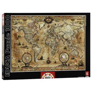 Настольная игра Античная карта мира. Пазл, 1000 элементов