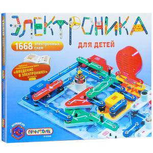 Настольная игра Электроника для детей. Научно-познавательный набор