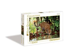 Настольная игра Леопард. Пазл, 2000 элементов
