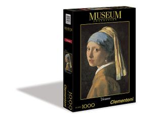 Настольная игра Девушка с жемчужной сережкой. Пазл, 1000 элементов