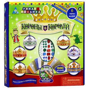 Настольная игра Короны Королей, Мозаика по номерам 1300 элементов