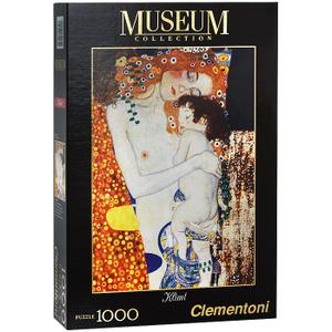 Настольная игра Три возраста женщины (Густав Климт) фрагмент. Пазл, 1000 элементов