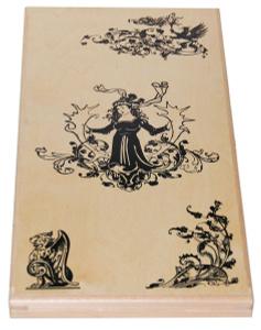 Настольная игра Волшебница: нарды, шашки. Разные цвета и материалы. Игровой набор 2 в 1