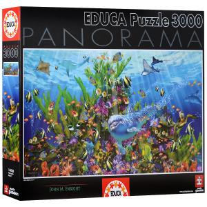Настольная игра Риф. Пазл-панорама, 3000 элементов