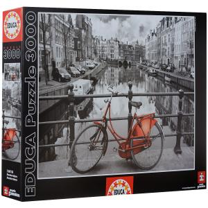 Настольная игра Амстердам. Пазл, 3000 элементов