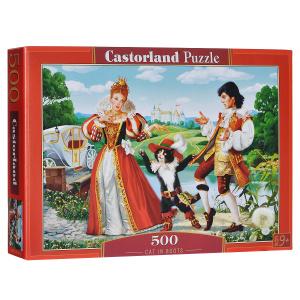 Настольная игра Кот в сапогах. Пазл, 500 элементов