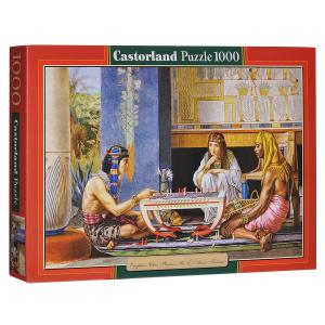Настольная игра Египетские шахматисты (Л. Альма-Тадема). Пазл, 1000 элементов