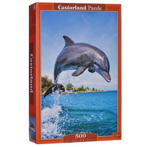 Настольная игра Дельфин. Пазл, 500 элементов