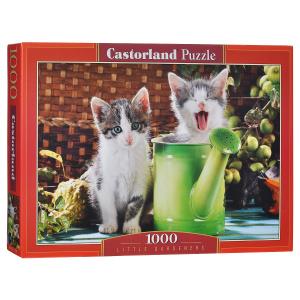 Настольная игра Котята. Пазл (1000 элементов)