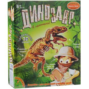 Настольная игра Тираннозавр. Набор для раскопок