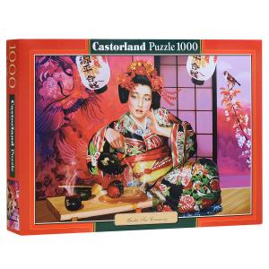Настольная игра Гейша на чайной церемонии (Geisha Tea Ceremony). Пазл, 1000 элементов