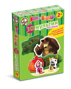Настольная игра Маша и Медведь: Краски. Объемный конструктор